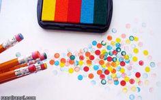 عکس های رنگی : ۶ ایده برای چاپ با مهر