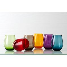 Venezia Glasses - one in each color