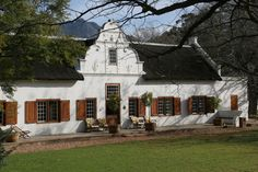 House Facades, Facade House, Cape Dutch, African House, Dutch House, Garden Walls, Adventure Is Out There, South Africa, Holland