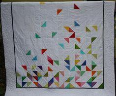 Half square triangle quilt  Sewtropolis
