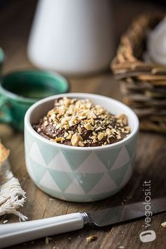 Hummus dolce al cioccolato