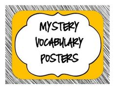 This set of posters are a great visual display when students are studying mysteries. There are 11 posters in this set. Be sure to visit my TPT store for more genre poster sets to display in your classroom. mystery clues suspect detective witness red herring crime evidence alibi motive sleuth