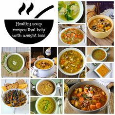 Culinary Ginger : 12 healthy soups to help with weight loss