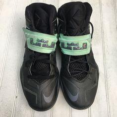 promo code d69af 647de Nike Shoes   Nike Lebron 7 Zoom Soldier Vii - Blackgray Green   Color   Black Green   Size  8.5
