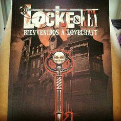 De las mejores sagas de #cómic que he leído. #locke&key