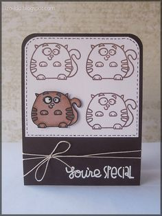 Paper Smooches card
