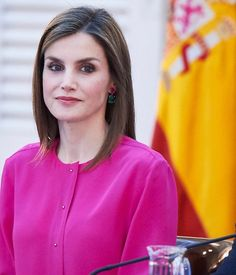 King Felipe VI of Spain and Queen Letizia of Spain attended annual meeting with members of the Boards of Trustees of the Princess of Asturias Foundation at Palacio de El Pardo on June 15, 2016 in Madrid, Spain.