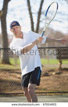 Image result for older man tennis
