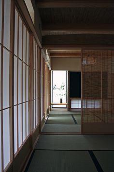 japanese room, 障子, 簾