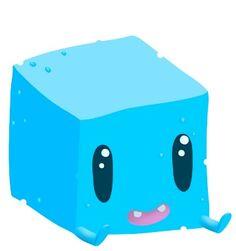 Cute Cube Character Design