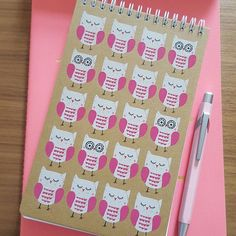 Feeling inspired by @girltricity this week, coming up with lots of ideas while commuting on the train. This morning I bought some notebooks with me to start getting these ideas on paper! Loving these cute owls from @sainsburys. #feelinginspired #ihaveanidea #businessideas #stationery #stationerylove #stationeryaddict #planner #plannergoodies