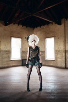 #CLOWN #FASHION #CONCEPT #PHOTOGRAPHY #SCARY #CASTLE