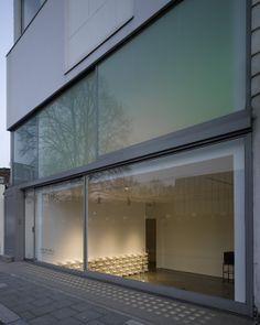 LIsson Gallery London - Tony Fretton by Nick Guttridge, via Behance
