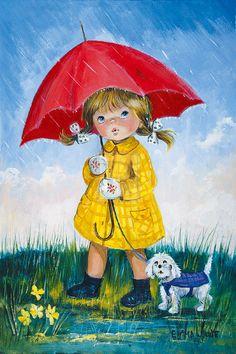 """April Showers"" by Dallas Simpson"