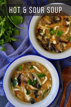 One of the most popular Chinese soup dishes, hot and sour soup stands out for its tangy flavour, pleasurable texture and warming nature. Try my recipe! #chinese #soup #healthyrecipes Wine Recipes, Asian Recipes, Ethnic Recipes, Soup Recipes, Pork Wraps, Carrot And Coriander, Soup Dish, Hot And Sour Soup, Kitchens