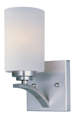 Bathroom Lighting Brands george kovacs tube brushed nickel led wall sconce | wall lighting