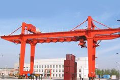 Heavy duty gantry crane is an efficient material handling equipment widely applied in manufacturing industry, ship building industry and rail terminals. Truss Structure, Cranes For Sale, Gantry Crane, Work Site, Indoor Outdoor, Container, Crane Car
