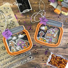 D Kirby Stamps: Spooky Village Lawn Fawn How You Bean? Scrapbooking Halloween, Paper Crafts Magazine, Lawn Fawn Stamps, Halloween Cards, Halloween Lawn, Halloween Treats, Fall Cards, Christmas Cards, Heartfelt Creations