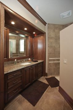 "#barenzbuilders ""his"" Master Bath"