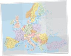 Eurail Map of Train Routes in Europe | Eurail.com