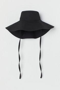 Kapelusz przeciwsłoneczny - Czarny - ONA   H&M PL 3
