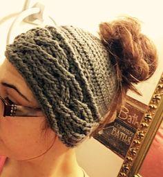 Messy bun hat/pony tail hat