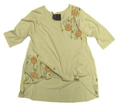 Fun shape and pretty size on this BF tunic