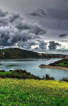 Evretou Dam, Paphos District, Cyprus