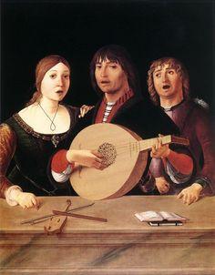 Giovanni Busi known as Il Cariani |  The Concert 1518-1520