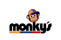 Diseño de Logo para estaciones de Servicio Monkys Snoopy, Fictional Characters, Design Logos, Fantasy Characters