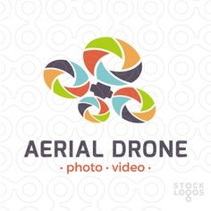 Logo For Sale Aerial Drone Logos