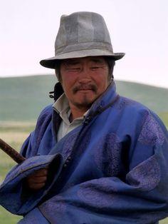 Herdsman in Centraal Mongolië, door: Fietser