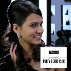 Participate in our instagram contest and win some fantastic goodies puffy retro chic look for the wedding season diy chic puff solutioingenieria Images