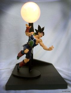 Bardock Vs Goku Custom Lamp 1