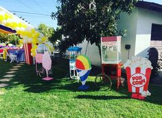 Carnival, Circus Birthday Party Ideas | Photo 1 of 47 | Catch My Party