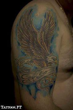de Tatuagens aguia goncalo braco