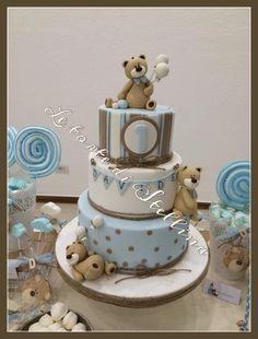Teddy cake by graziastellina