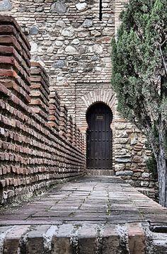 La Alcazaba de Málaga, Spain