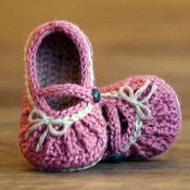 Too Cute Mary Jane Crochet Pattern - via @Craftsy