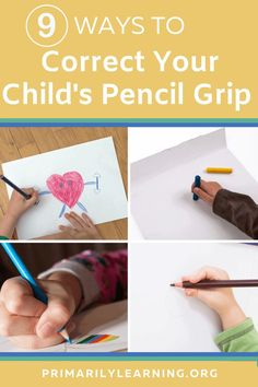 Pencil grip varies for children and adults! Both a right and left-handed child should aim to hold the pencil with a three-finger tripod grip. Encourage a young child (aged 3-4) who is beginning to use pencils or crayons to hold the pencil between the index finger and thumb… and rest it on the middle finger. This grip becomes more automatic with practice. #pencilgrip #kindergarten #pencilhold #primary Homeschool Preschool Curriculum, Education And Literacy, Preschool At Home, Early Literacy, Jolly Phonics Activities, Phonics Games, Spelling Activities, Syllables Kindergarten, Consonant Blends Worksheets