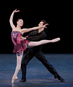 Tiler Peck and Robert Fairchild in George Balanchine's Who Cares? © Paul Kolnik