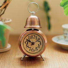 *小さいクラシックデザインの目覚し時計*テーブルクロックORLYオルリー