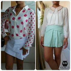 Shorts saia da Miss Constância ;) http://missconstancia.iluria.com