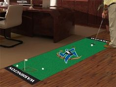 Washington Wizards Golf Putting Green Runner Area Rug