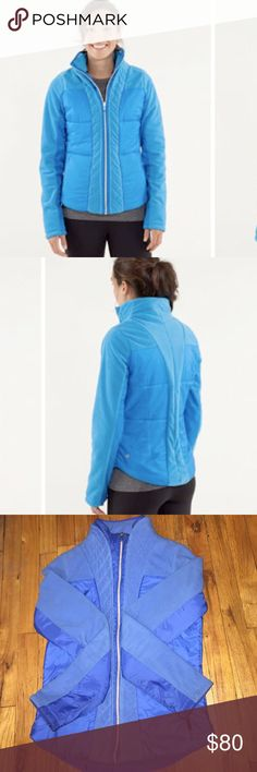 VINTAGE lululemon St. Moritz Jacket sz 6 Great condition! Very cozy. Made with fleece. Feels like it's double layered. Has zipper pockets. lululemon athletica Jackets & Coats