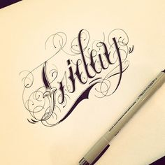 Tattoo Letters In Style On Pinterest  Fonts Chicano And