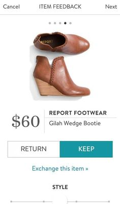 REPORT FOOTWEAR Gila