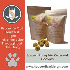 Look no further for a treat that promotes digestive health and targets inflammation throughout the gut & body. Packed with oats, pumpkin, cinnamon, turmeric and ginger, these healthy little cookies are low in calories. Spiced Pumpkin, Pumpkin Spice, Pumpkin Oatmeal Cookies, Vintage Recipes, Health And Nutrition, Smoothie Recipes, Knit Crochet, Healthy Living, Spices