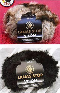 Путеводитель в мире вязания: Пряжа Vison от Lanas Stop - имитация меха норки | советы по вязанию спицами | Постила