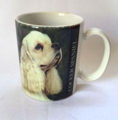 Cocker Spaniel Coffee Mug Dog Verse Pets Animal Photo Cup Barbara Augello 1994
